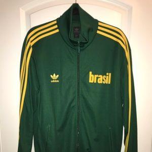 Limited Edition Adidas Brazil Track Jacket